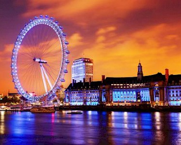 London Eye nacht