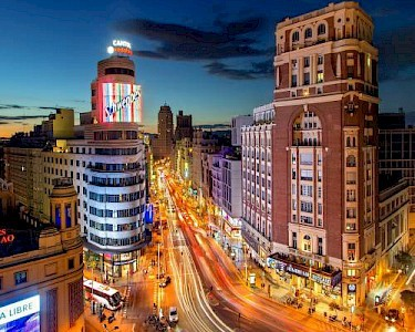 Madrid Plaza del Callao