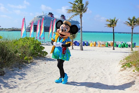 Minnie Mouse Castaway Cay