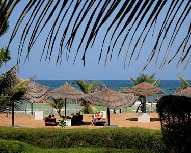Holiday Beach Cluba Gambia strand