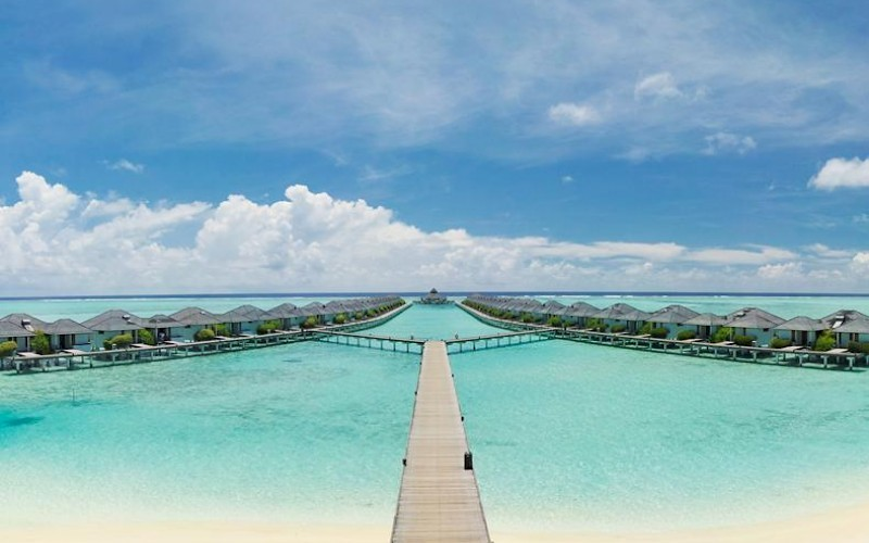 Sun Island Resort Malediven waterbungalows