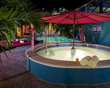 The Ritz Village Curacao jacuzzi