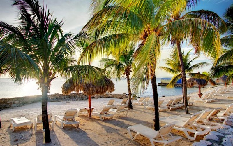 Plaza Beach Resort Bonaire strand