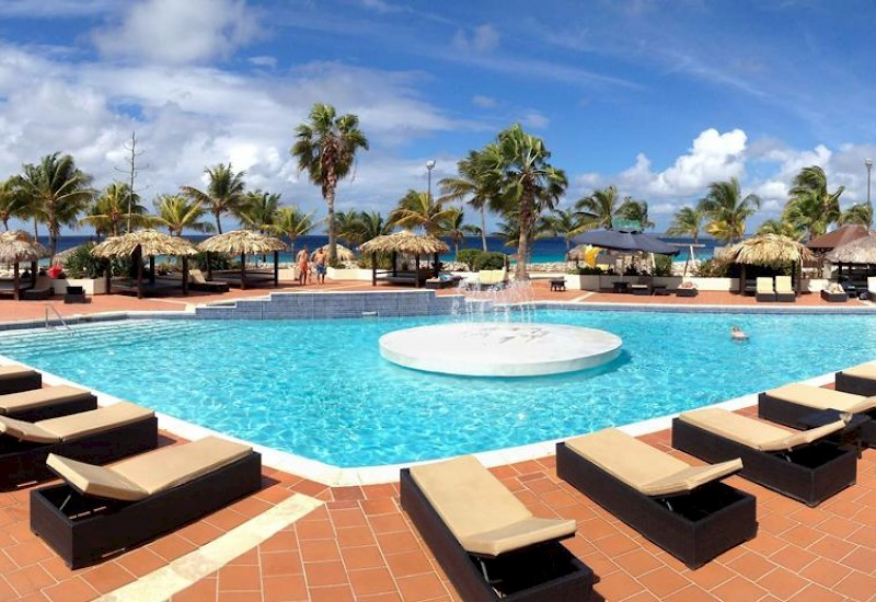 Plaza Beach Resort Bonaire zwembad