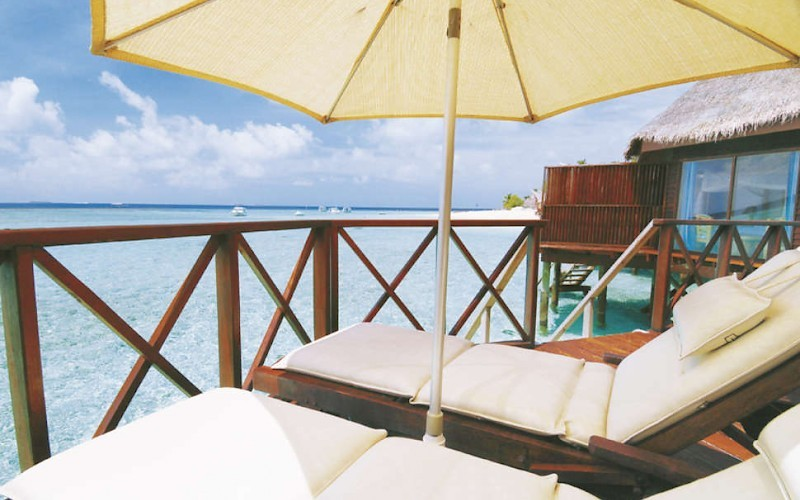 Thulhagiri Island Resort & Spa waterbungalow