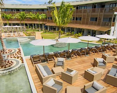 Be Cosy Mauritius terras