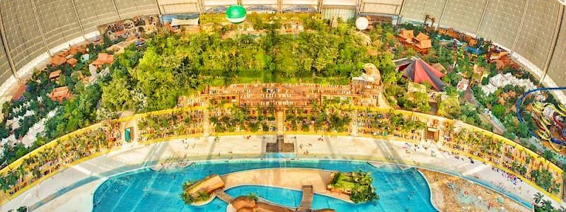 Tropical Islands waterpark Duitsland