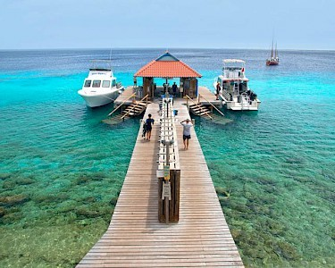 Divi Flamingo All Inclusive Beach Resort pier