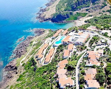 Castelsardo Resort Village bovenaanzicht