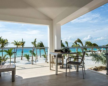 Delfins Beach Resort Bonaire balkon