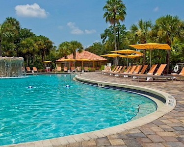 DoubleTree by Hilton Orlando at Seaworld zwembad