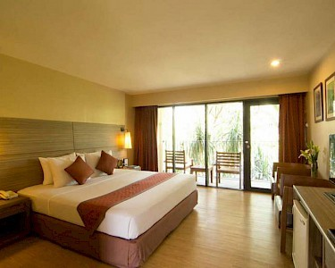 The Green Park Resort Thailand kamer