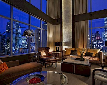 InterContinental Times Square lounge