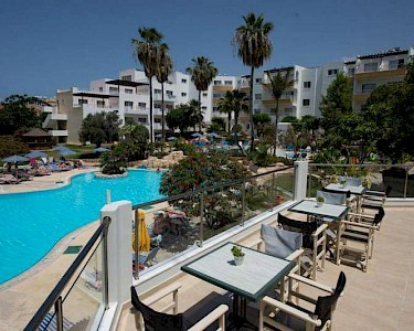 Mayfair Gardens Appartementen Cyprus terras