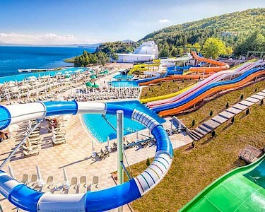 Izgrev Spa & Aquapark Macedonië glijbanen