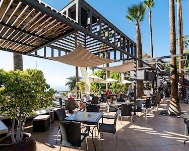 The Harbour Club Tenerife terras