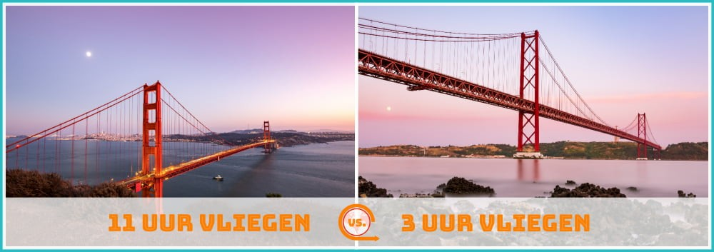 Golden Gate Bridge vs. Ponte 25 de Abril