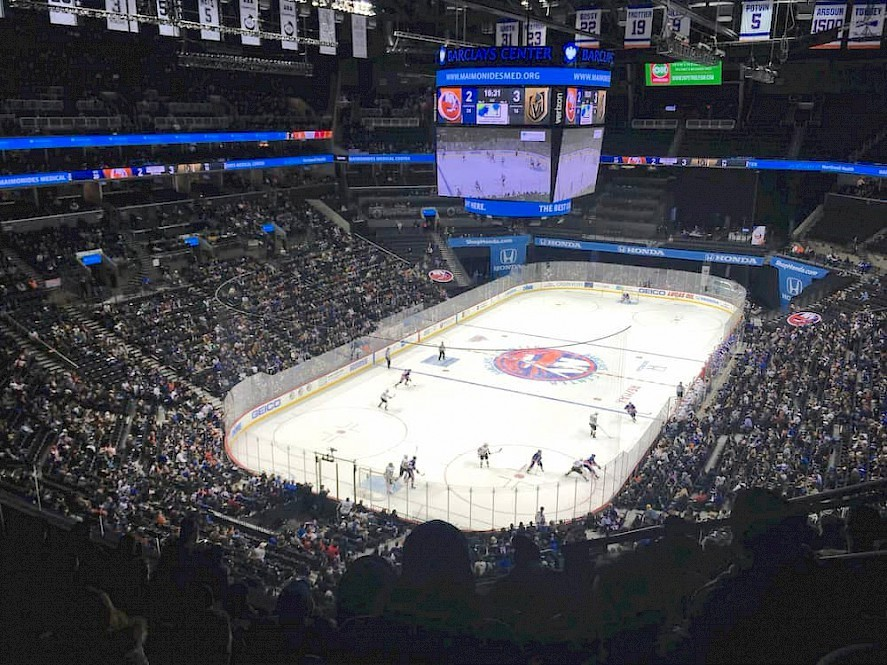 Islanders Brooklyn ijshockey