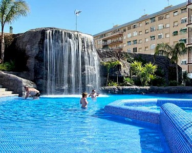 Hotel Papi waterval