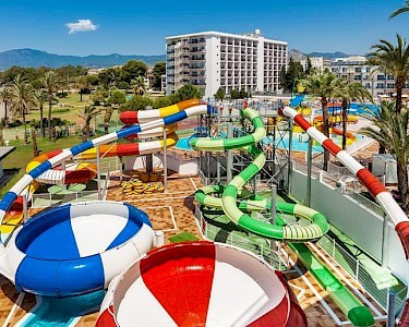 SPLASHWORLD Playa Estepona glijbanen