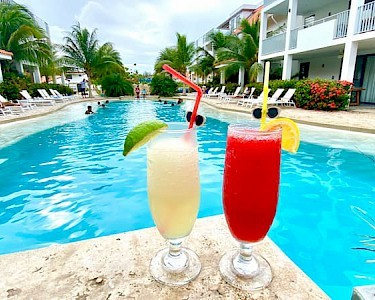 Resort Bonaire cocktails
