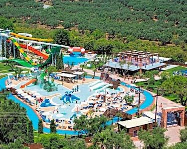 SPLASHWORLD Aqua Bay bovenzicht
