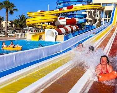 SPLASHWORLD Venus Beach glijbaan