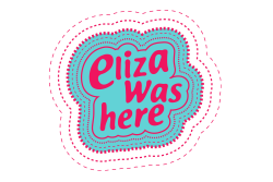 Eliza was here logo